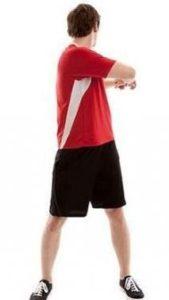 Walking torso rotation