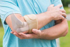 tennis elbow splinting